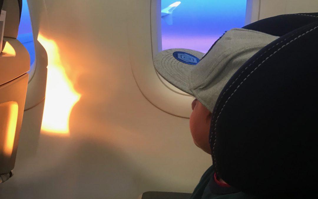 Mit dem Kindersitz in die Ferien fliegen…